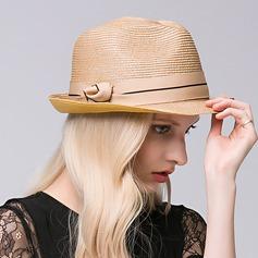 Signore Squisito Rafia paglia Cappello di paglia