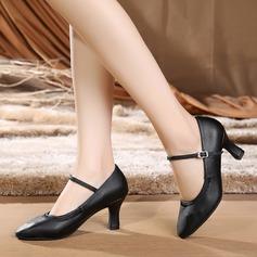 Vrouwen Kunstleer Hakken Ballroom Character Shoes Dansschoenen