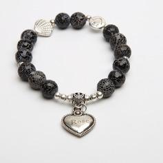 Personalized Faux Dragon Bone Stone Ladies' Bracelets