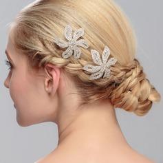 Atraente Cristal Grampos de cabelo (Vendido em uma única peça)