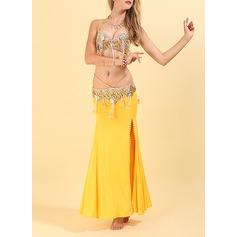 Femmes Tenue de danse Polyester Danse du ventre Tenues
