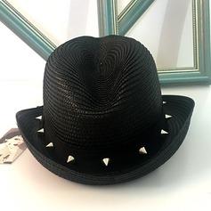 Señoras' Hermoso Ratán paja Sombrero de paja