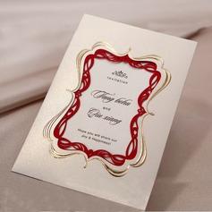 Personalized Vintage Style Wrap & Pocket Invitation Cards (Set of 50)