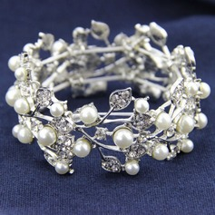 Gorgeous Legering/Rhinsten/Imiteret Pearl Ladies ' Armbånd