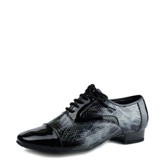 Men's Patent Leather Ballroom Dance Shoes