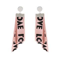 Nice Alloy Cloth Women's Fashion Earrings