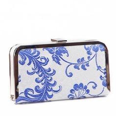 Elegant Silk Clutches/Fashion Handbags (012103350)