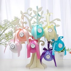 Creative/Lovely/Round Ball Plastic Candy Jars and Bottles With Ribbons
