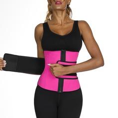 Mujeres Estilo clásico/Deportes poliéster Transpirabilidad/Aislamiento térmico Cintura Alta Cinchers de cintura Fajas