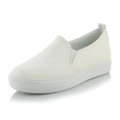 Kvinner Egte Lær Flat Hæl Flate sko sko