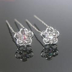 Hermoso Aleación/Perlas de imitación Horquillas (Juego de 3)