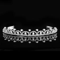 Maravilloso Aleación/La perla de faux Tiaras
