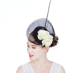 Ladies' Gorgeous/Fashion/Glamourous Cambric With Feather Fascinators