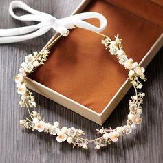 Filles Beau Strass/De faux pearl Bandeaux avec Perle Vénitienne (042129264)