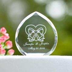 Individualisiert Band-Entwurf Kristall Torten-Dekoration/Kristall Artikel