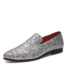 Mannen Sprankelende Glitter Penny Loafer Casual Loafers voor heren (260171587)