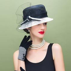 Ladies' Elegant/Unique Cambric Floppy Hat