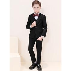 Ragazzi 5 pezzi Stile Classico Abiti per Paggetti /Page Boy Suits con Giacca Camicia ovest Pantaloni ciclo continuo