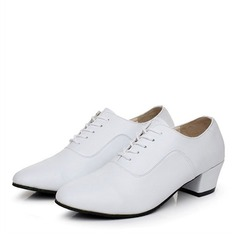 Men's Real Leather Latin Jazz Dance Shoes