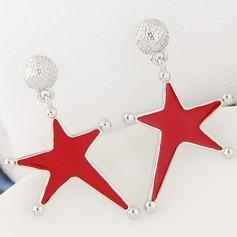 Dejligt Legering Ladies ' Mode øreringe