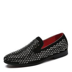Menn Lær Avslappet Loafers til herre