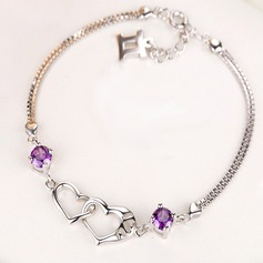 Vackra Och Silver Damer' Mode Armband