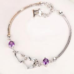 Beautiful Silver Plated Ladies' Fashion Bracelets