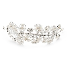 Simple Butterfly Alloy/Imitation Pearls Tiaras
