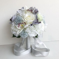 Blooming Round Bridal Bouquets/Bridesmaid Bouquets -