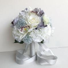 Éclosion Rond Bouquets de mariée/Bouquets de demoiselle d'honneur -