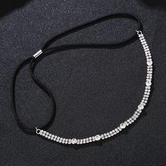Damen Schöne Strass Stirnbänder mit Strass (In Einem Stück Verkauft)