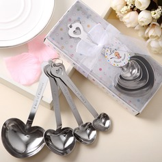 Heart Shaped Zinc Alloy Spoon Set