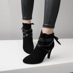 Kvinnor Mocka Stilettklack Pumps Stövlar Boots med Andra skor