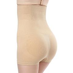 Women Sexy/Honeymoon Chinlon/Nylon High Waist Briefs Body Shaper Panties