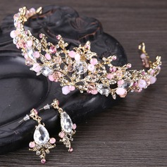 Gorgeous Rhinestone/Alloy Tiaras With Rhinestone (Sold in single piece) (042147321)