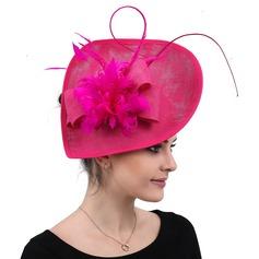 Damene ' Handmade/Hotteste Cambric med Silke blomst Fascinators/Kentucky Derby Hatter
