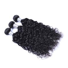 7A Coupe primaire Vague d'eau les cheveux humains Tissage en cheveux humains (Vendu en une seule pièce) 100 g