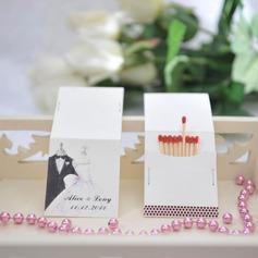 Personalizado Noiva e Noivo papel cartão duro (Conjunto de 50)