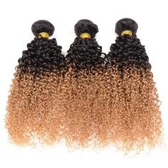 4A Nicht remy Lockig Menschliches Haar Geflecht aus Menschenhaar (Einzelstück verkauft) 100g