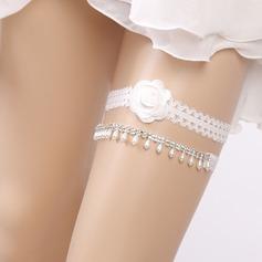 2-Delt/Sexy bryllup Strømpebånd