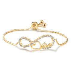 Dames Simple Cuivre/Zircon de Bracelets