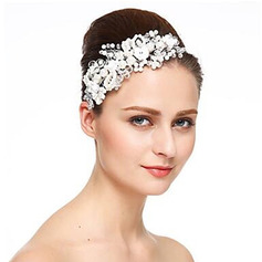 Ladies Classic Crystal/Rhinestone/Pearls Headbands (Sold in single piece)