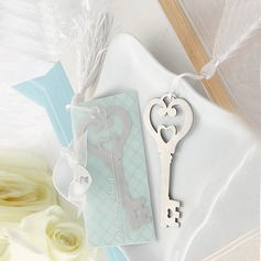 Key To Your Heart Stainless Steel Bookmarks