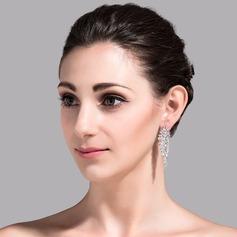 Elegant Koppar/Zirkon/Platina Damer' örhängen