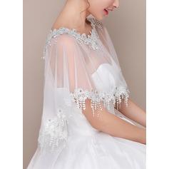 Lace Tüll Hochzeit Bolero (013125008)