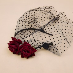 Ladies' Glamourous/Elegant/Simple/Handmade Net Yarn/Velvet Fascinators