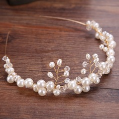 Glamour Alliage/De faux pearl Bandeaux (Vendu dans une seule pièce)