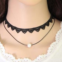 Unik Legering med Spets Flick Mode Halsband