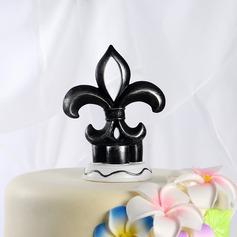 Flor-de-luce Resina Casamento Decorações de bolos