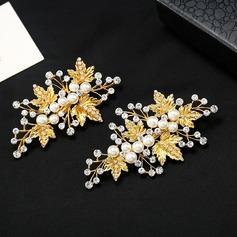 Magnifique Alliage/De faux pearl Des peignes et barrettes (Lot de 2)